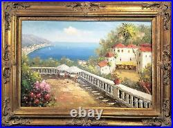 5.5 WIDE Gold Black Ornate Antique Oil Painting Wood Picture Frame 620AG 30x40