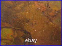 ANTIQUE EARLY 19th CENTURY AUSTRIAN PETER FENDI AFRICAN SLAVE VENICE PAINTING