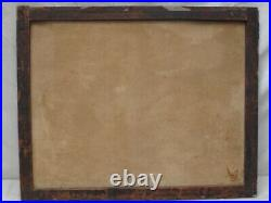 Antique 17thc. Oil Painting A Nod Om Sancho dated 1605 Hunting Dog and Fox