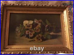 Antique 19th Century signed Old Master Portrait Oil Painting