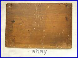 Antique Oil Painting Of Cows 19th Century On Panel