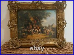 Antique Oil on Board. After William Shayer