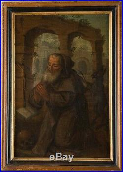 Antique Old Master oil on panel painting, Northern European, 16th century