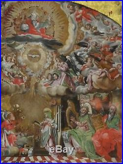 Fine 17th Century Italian Old Master The Annunciation Antique Oil Painting