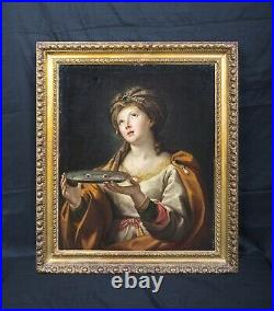 Large 17th Century Italian Old Master St Lucy Martyr Sebastiano CONCA